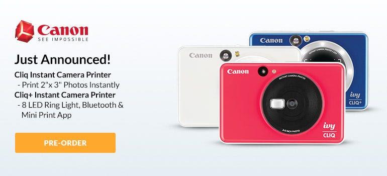 Canon Cliq Instant Camera Printer