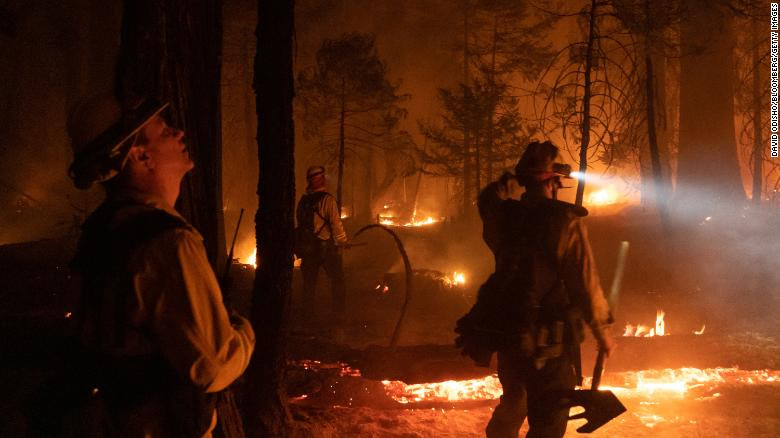 Nine national forests close in California as the state grapples with drought-fueled wildfires