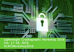 Lightweight Cryptography 2016