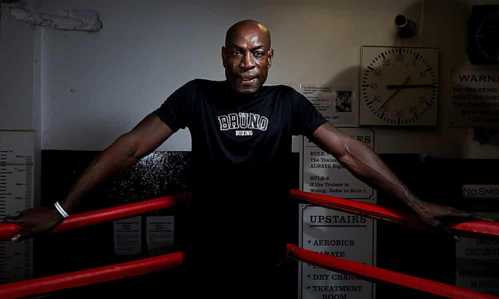 'I took a big risk fighting Tyson again. I just went out there and winged it'