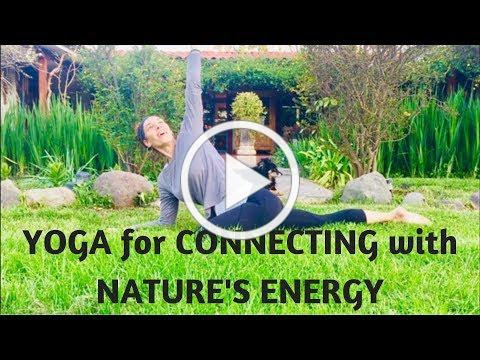 Yoga for Connecting with Nature's Energy | Yoga with Meditation Mutha