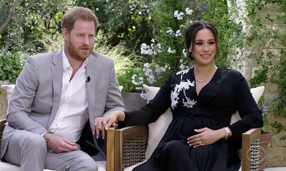 Meghan and Harry describe racism and royal animosity in Oprah interview