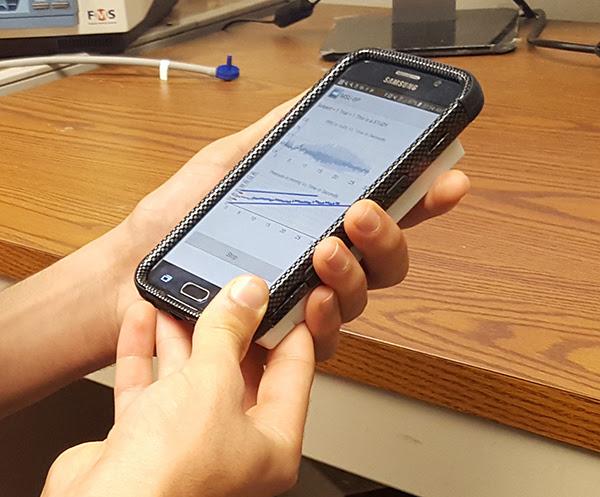 Accurate Cuff-less Blood Pressure Measurement on a Smartphone