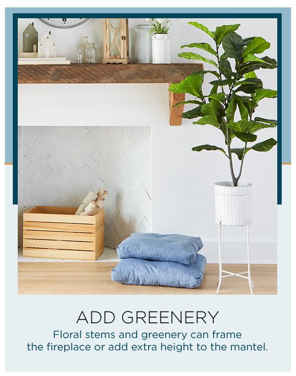 Add Greenery