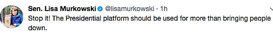 Trump Tweet Murkowski