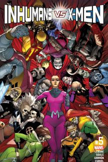 Inhumans vs. X-Men #5