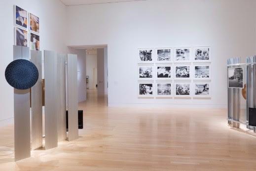 "Michelle Grabner ""Weaving Art Into Life"" installation"