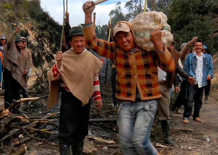 """""""Lo más duro del paro será en mayo"""", cuentan los líderes de la protesta campesina"""