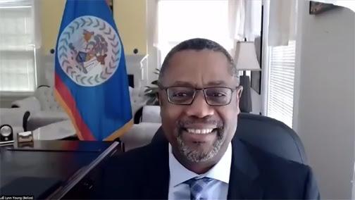 Nuevo Embajador de Belize presenta credenciales