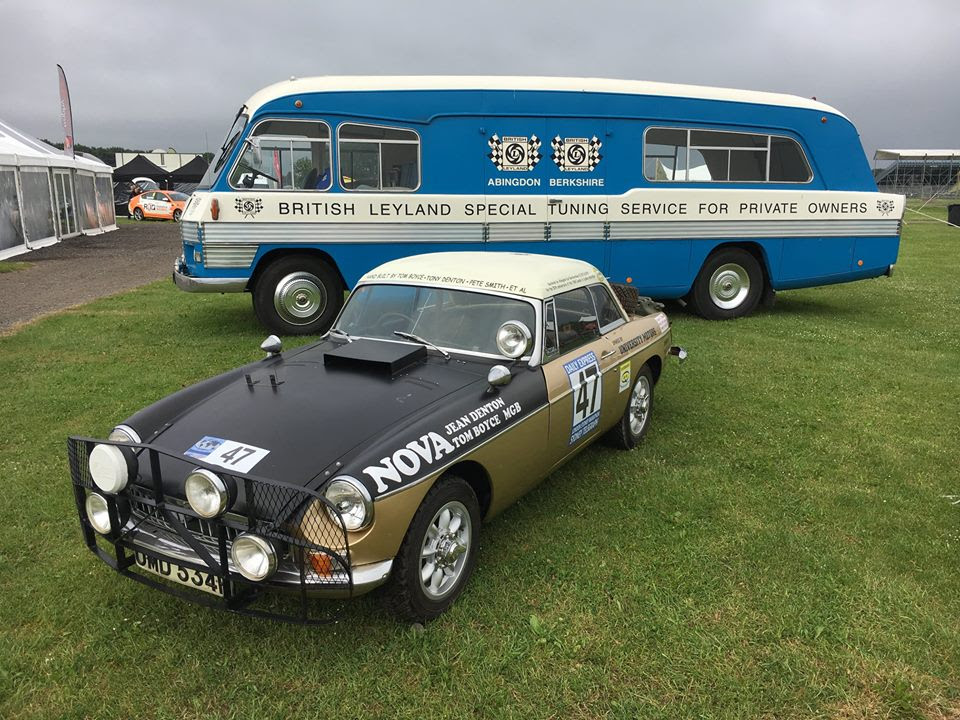 Marathon MGB with Doug Samuels BL Special Tuning Transporter