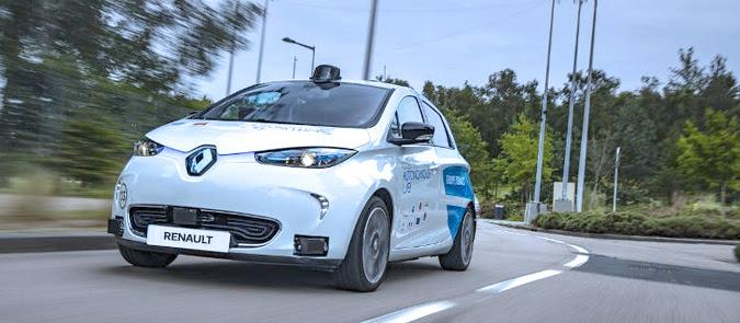 Renault ZOE roda nas estradas