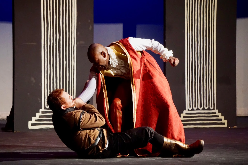 SiP 2018's David Jonathan Burrows and Mark Humes in Othello