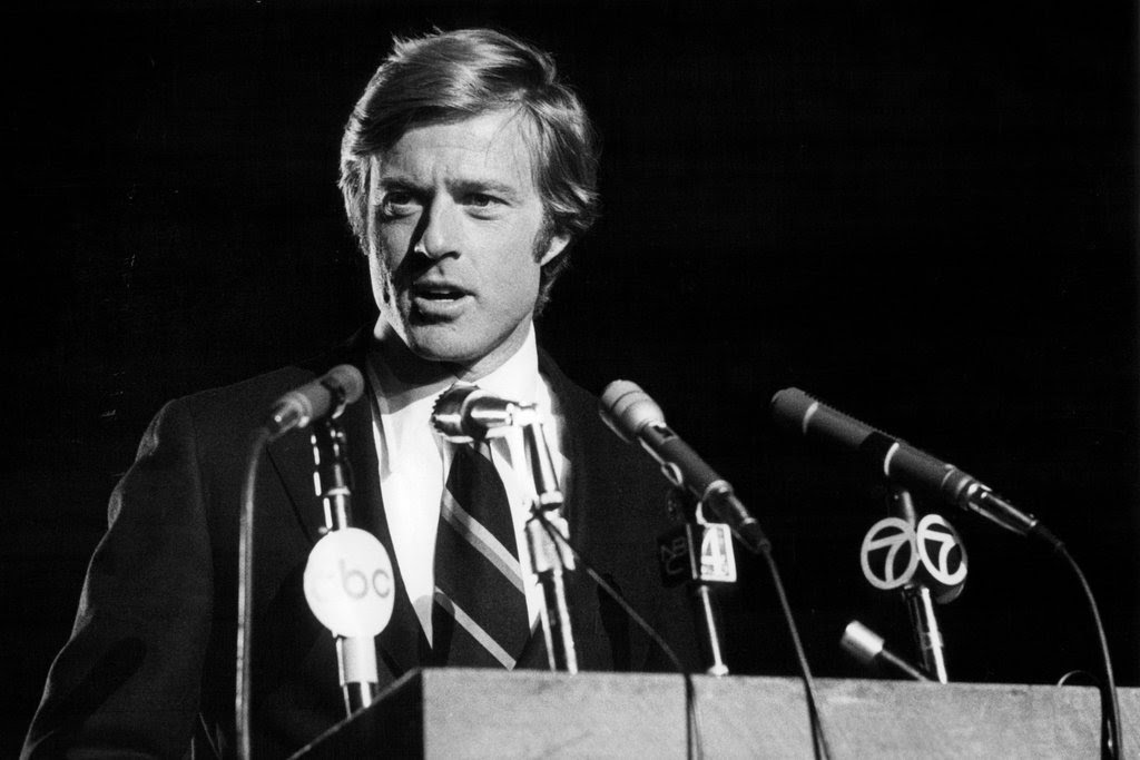 """Robert Redford as Bill McKay in the 1972 film """"The Candidate."""""""