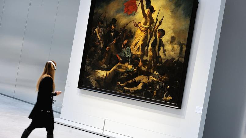Le Louvre-Lens, qui a eu parmis ses œuvres exposées le fameux tableau d'Eugène Delacroix, est aujourd'hui au cœur d'une polémique.