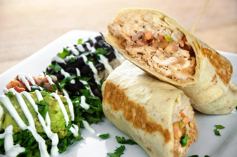 Chicken Adobo Burrito image