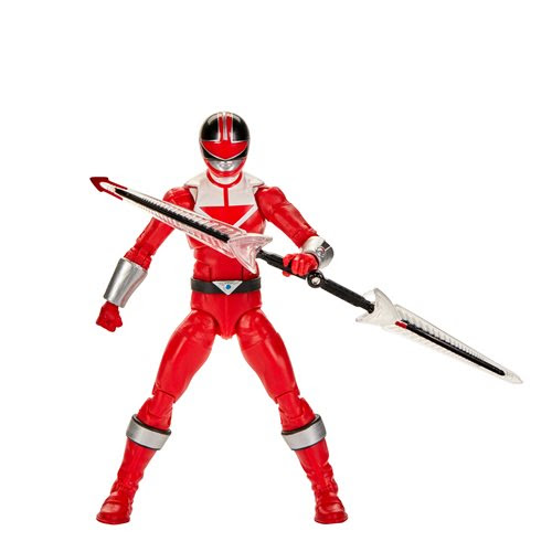 Image of Power Rangers Lightning Collection Wave 5 - Time Force Red Ranger 6-Inch Action Figure - JUNE 2020