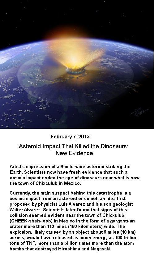 Asteroid impact -3