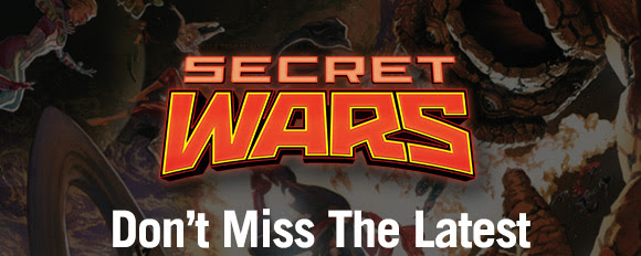 Don't Miss The Latest Secret Wars Titles!