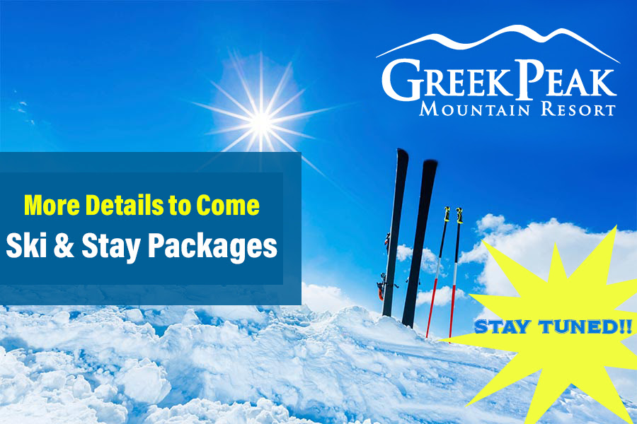 Ski and Stay at Greek Peak - More Details to Come