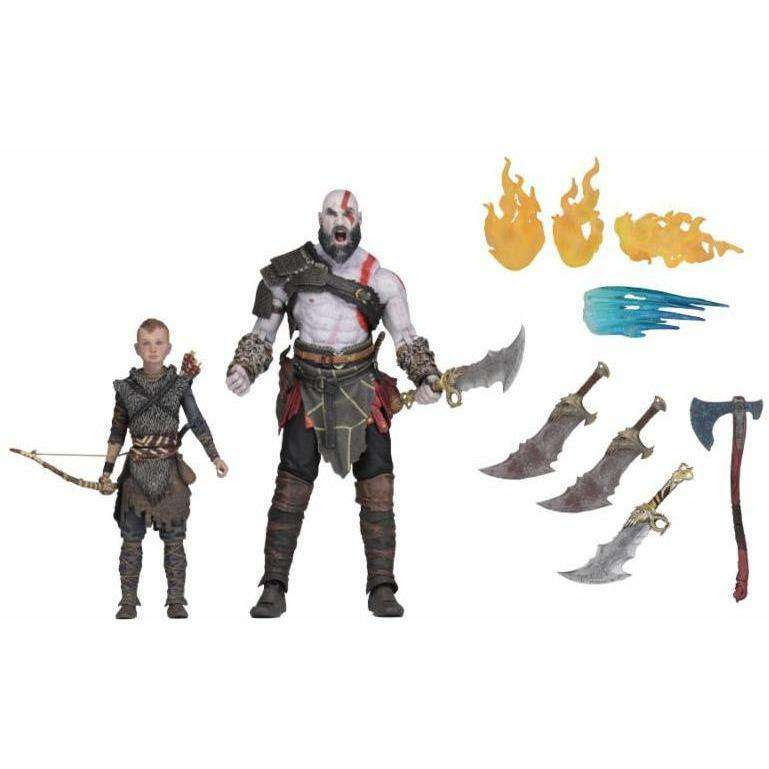 "Image of God of War (2018) - 7"" Scale Action Figure - Ultimate Kratos & Atreus 2-Pack"