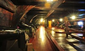 Tour of The Golden Hinde II