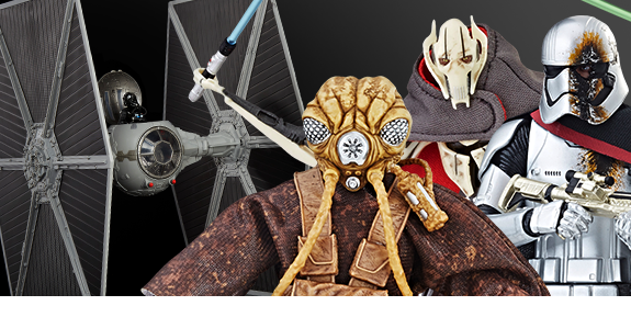 STAR WARS: THE BLACK SERIES & VINTAGE COLLECTION