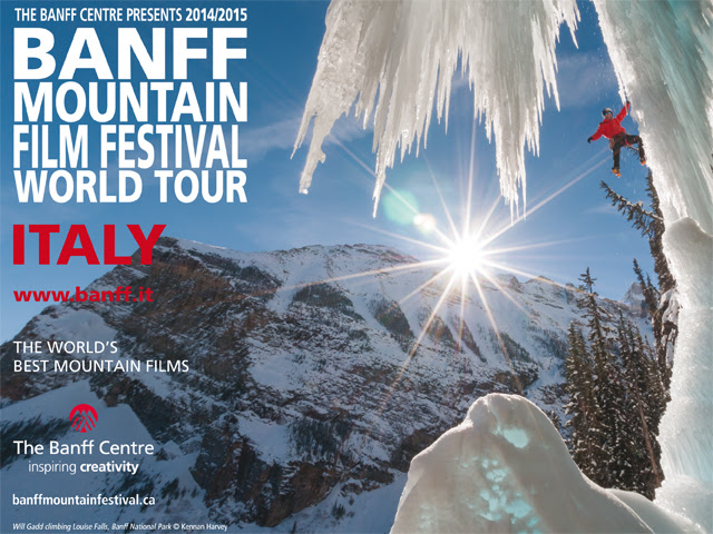 BANFF MOUNTAIN FILM FESTIVAL WORLD TOUR IN ITALIA