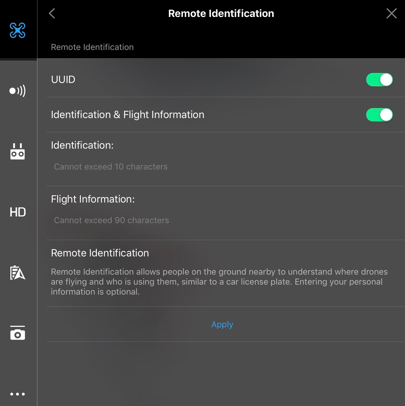 DJI Introduces Voluntary Flight Identification Options For Drone