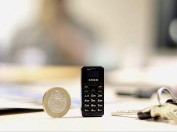 أصغر هاتف محمول