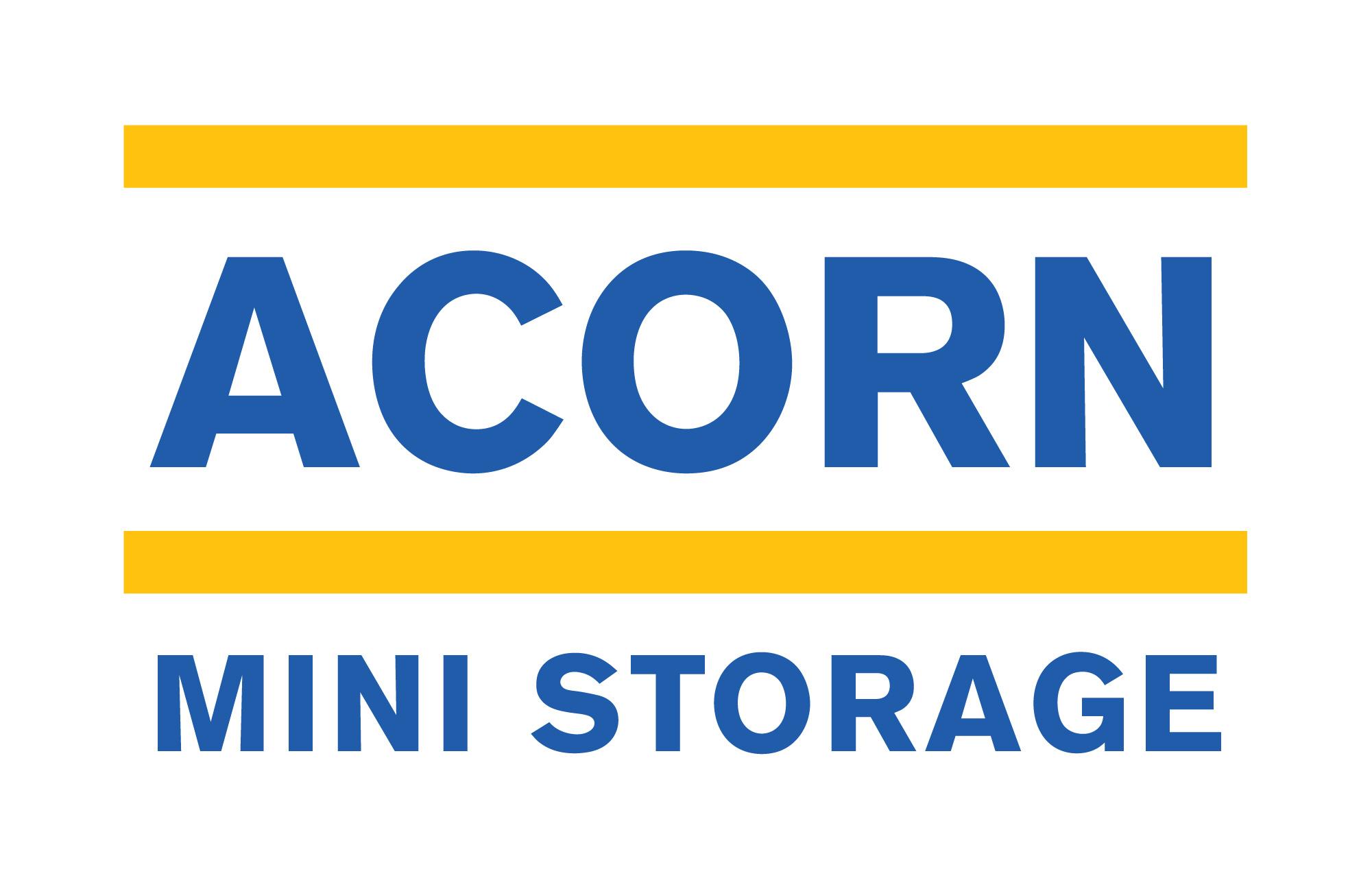 Acorn mini storage logo