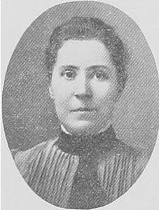 Historical photo of Eva Belles