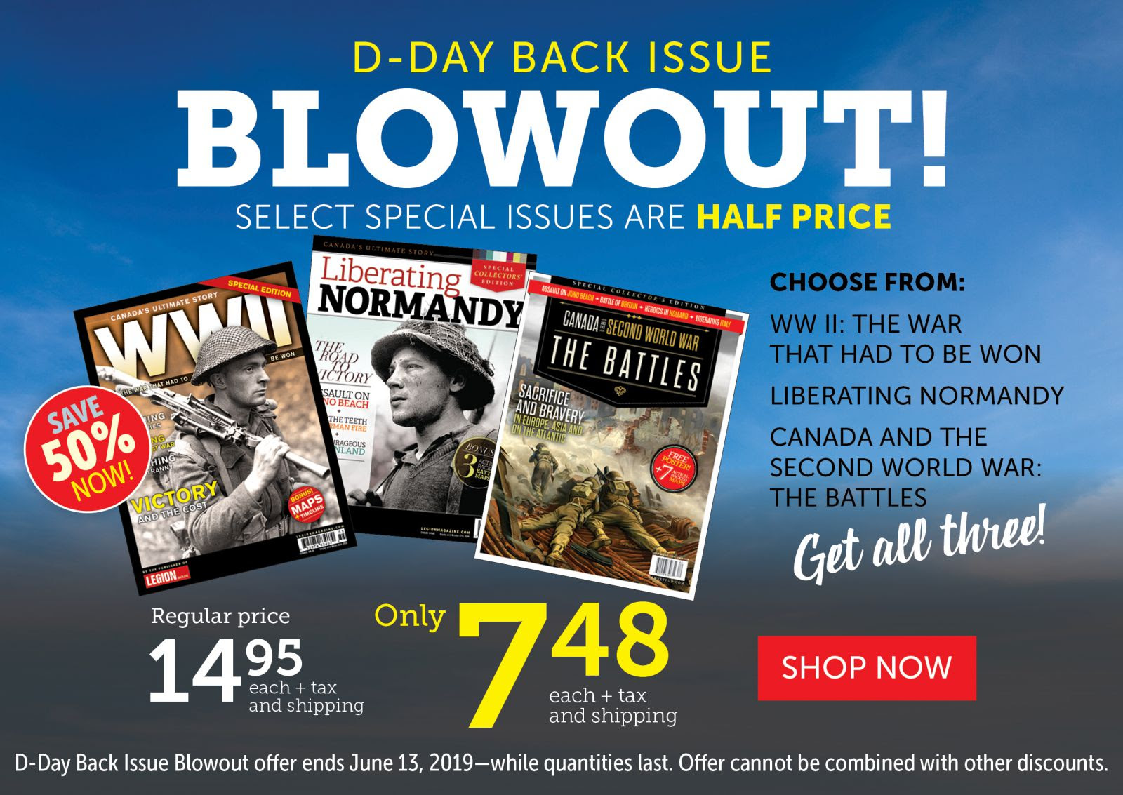 Back Issue BLOWOUT