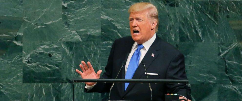 בילד: פרעזידענט טראמפ: מיר וועלן גענצליך פארניכטן נארט קארעא אויב זיי פראוואקירן
