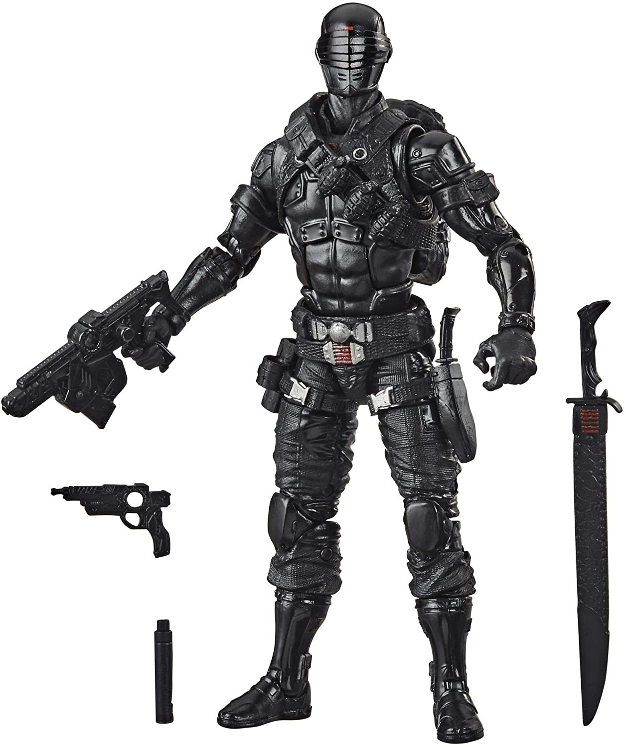 Image of Hasbro G.I. Joe Classified Series Snake Eyes Action Figure 02 Collectible Premium Toy with Multiple Accessories 6-Inch Scale with Custom Package Art