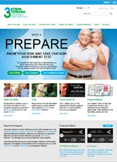 Screen shot of 3 Steps Toward Preventing Infections During Cancer Treatment home page