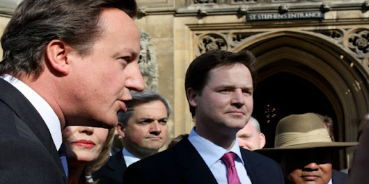 Politics: Between the Extremes. Nick Clegg. Bodley Head