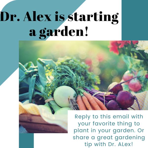 Dr Alex garden