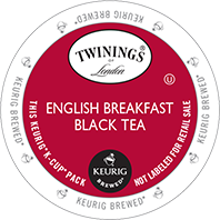 Twinings English Breakfast Keurig K-cup tea
