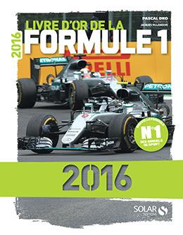 Couverture : Livre d'or de la Formule 1 2016