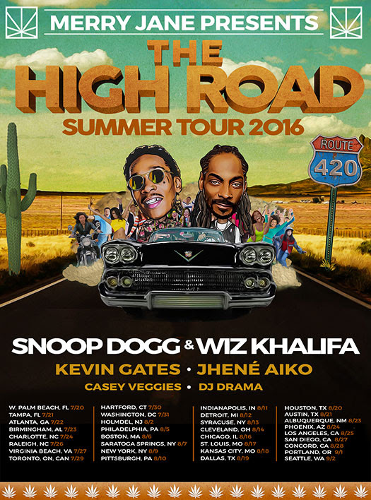 The High Road Summer Tour With Snoop Dogg