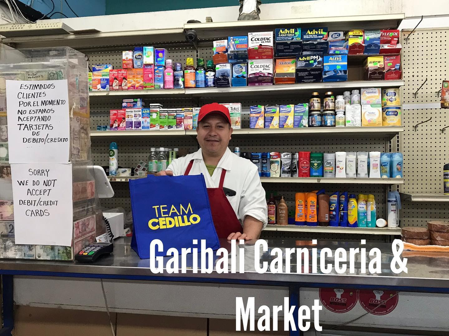 Dropping Masks at Garibaldi Carniceria 3-26-2020