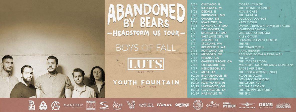 boys of fall abandoned tour