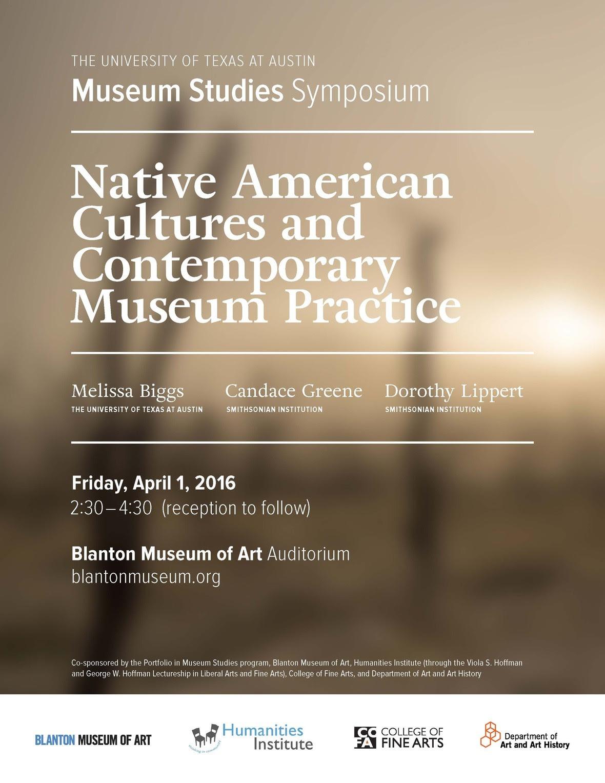 Museum studies symposium
