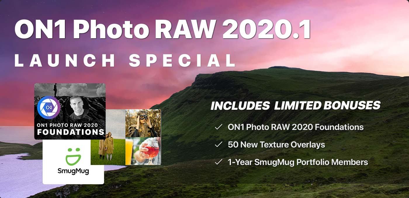 ON1 Photo RAW 2020.1 Limited Bonuses