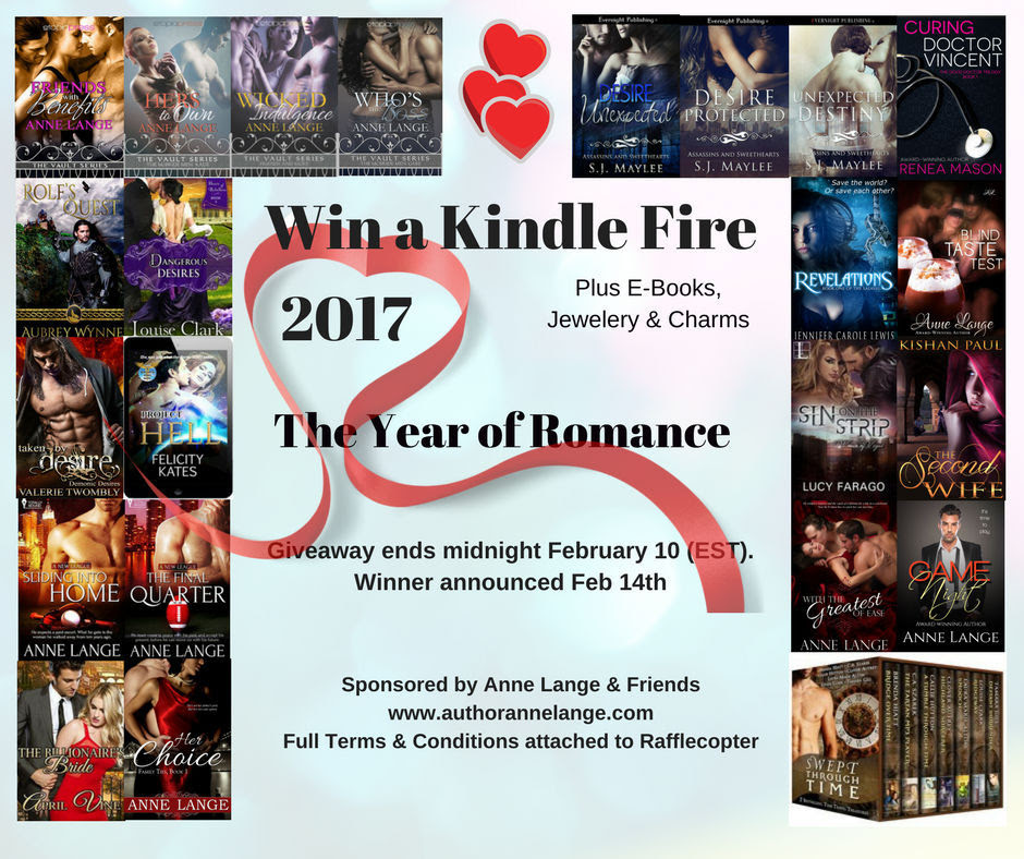 2017 Year of Romance Giveaway