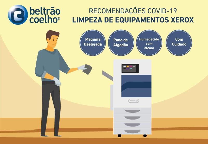 Como limpar equipamentos de impressão em segurança