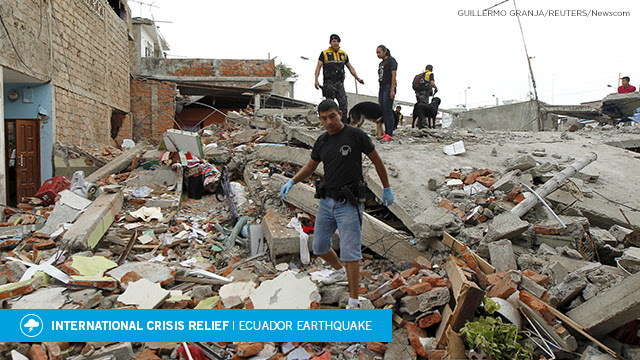 Ecuador Earthquake Email Header