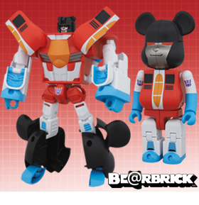 TRANSFORMERS BEARBRICK FIGURES