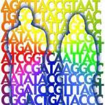 Colorful Personal Genome Illustration