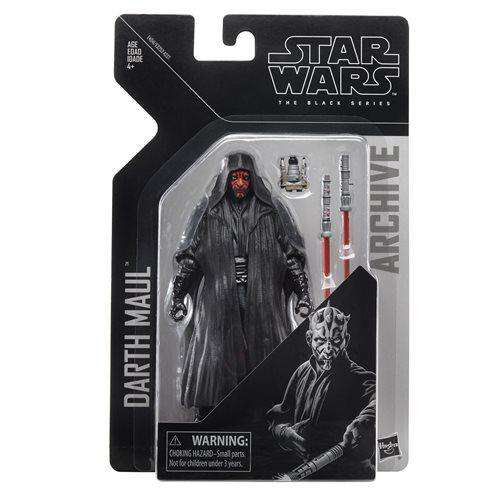 Image of Star Wars The Black Series Archive Action Figures Wave 2 - Darth Maul - AUGUST 2019